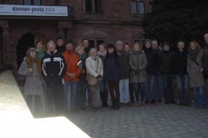 Vor dem Schloß in Aschaffenburg